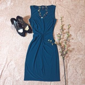 American Living Turquoise Cocktail Dress SZ 2